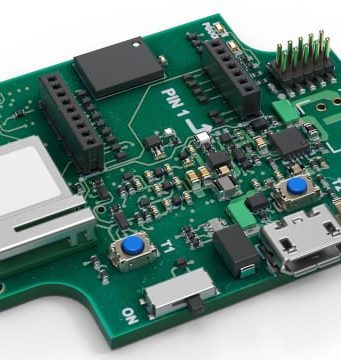 Application board para evaluación de sensores y prototipado rápido