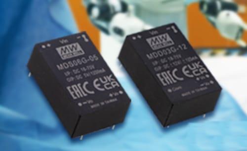 Convertidores miniatura de grado médico MDS03/06 y MDD03/06