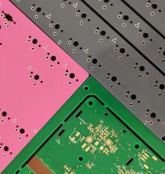 Placas PCB de colores Soldermask
