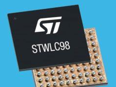 STWLC98 Receptor de carga inalámbrica Qi de 70 W