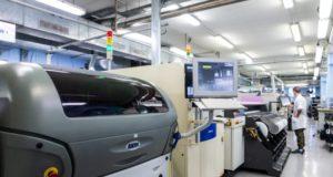 Montaje y fabricación de equipos electrónicos