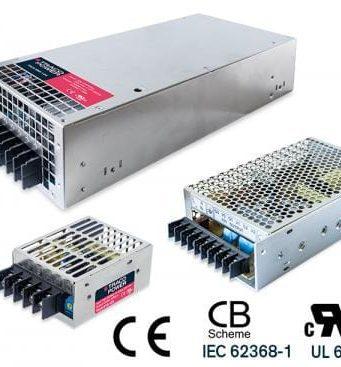 TXLN Fuentes de alimentación AC/DC cerradas de 18 a 960 W