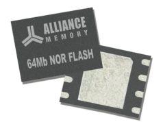 Memorias flash NOR serie AS25F