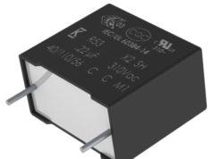 Condensadores de película para supresión EMI X2