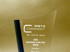 Digi-Key Electronics distribuidor del año para METZ CONNECT