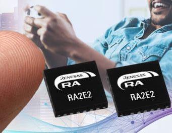 Microcontroladores RA2E2 de bajo consumo