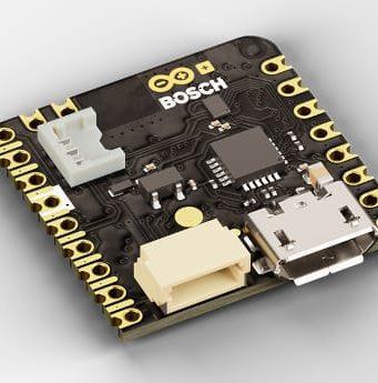 Arduino Nicla Sense ME Tarjeta con cuatro sensores Bosch para IA en el borde
